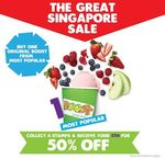 Purchase Any Original Boost from Each Category and Get Your 5th Boost at 50% off - Boost Juice