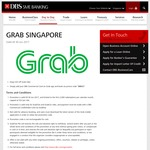 $3 off GrabTaxi and GrabCar Rides with Grab (DBS Commercial Cards)