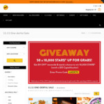 $20 Vouchers for $11.11 at Selected Restaurants via Chope