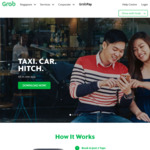 $3 off First 3 Rides Then $5 off Next 5 Rides with Grab (Monday 5th to Sunday 11th March, 7am to 8pm)