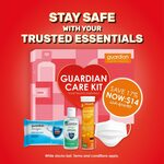 Guardian's Exclusive Care Kit for $14 (U.P. $16.90) at Guardian in The Clementi Mall