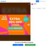 30% off Sitewide ($79 Min Spend) at Zalora