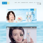 Free Hydrating Lotion Sample Delivered from Hada Labo