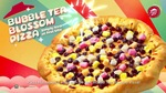 Bubble Tea Blossom Pizza: 50% off 2 Pizzas for Delivery or 1 Pizza for Takeaway at Pizza Hut