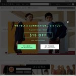 18% off Sitewide at Zalora (No Minimum Spend, First Time Customers)