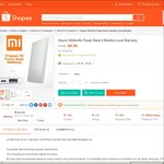Xiaomi 5000mAh Power Bank for $4.90 (Self Collect) or $7.80 (Delivered) from jtbcgroup at Shopee