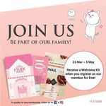 Free Welcome Kit (Air Therapy Mask, Consultation, 3pc Sample Kit) from Etude House for New Members [Facebook/Instagram Required]