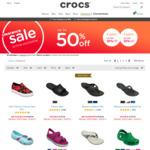Buy 2 Get 10%, 3 Get 15% off Clearance @ Crocs