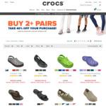Buy 2+ Pairs, Get 40% off at Crocs