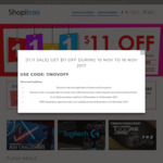 $11 off at Shopitree ($110 Minimum Spend)