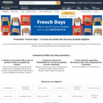 """French Days"": 10€ OFF Purchase with a Minimum Spend of 50€ for Eligible Purchases @ Amazon France"