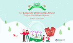 2 Tickets to Christmas Wonderland for 1 Point via GrabRewards (Platinum Members)