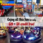 $40 Timezone Credit for $29 via Qoo10