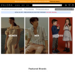 Flash Sale 40% off Zalora (12-6pm Today Only)