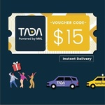 Tada $15 Voucher ($16 Min Spend) for $12.90 at Qoo10