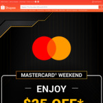 $25 off ($400 Min Spend) on Electronics Every Weekend at Shopee [Mastercard]