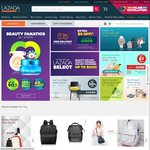 Lazada $8 off with Min $50 Spend. from Honest Bee