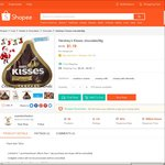 Hershey's Kisses (36g) for $1.19 Delivered by scarletcollection at Shopee