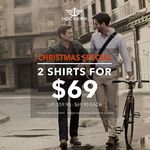 2 Shirts for $69 at Dockers (U.P. $59.90 - $69.90 Each)