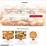 Pezzo Pizza via foodpanda - Free Delivery ($25 Minimum Spend)