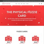 $10 off Fuzzie Cards ($200 Min Spend) to Buy Discounted Gift Cards for Other Retailers at Fuzzie