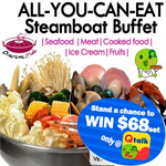 All You Can Eat Steamboat Buffet Lunch at Charcoal Thai: $13.90 for Adults, $6.90 for Children via Qoo10/Groupon (Min 2 Pax)*