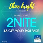 ComfortDelGro - $8 off Taxi Fares (Valid 11pm to 5am Daily)