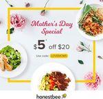 $5 off at honestbee Food ($20 Minimum Spend)