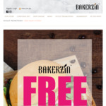 Get 4th Main Course Free with Every Order of 3 Main Courses at Bakerzin
