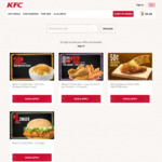 KFC Black Friday: 10c Medium Whipped Potato (U.P. $3.4), 8pcs Chicken $12 (U.P. $19), $1 Zinger (U.P. $5.3)
