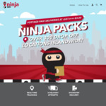 $30 for 10 Ninja Packs(Was $35) at Ninjavan