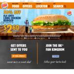 10% Cashback at Burger King (Singtel Dash)