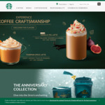 $3 off ($6 Min Spend, MasterCard Credit Cards) or $2 off ($6 Min Spend, Other Credit Cards) at Starbucks [Standard Chartered]
