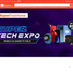 $10 off $160 Mobile & Gadgets at Shopee