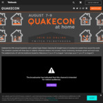 [PC] Free: Quake 1, 2 & 3 When You Login into Bethesda.net Launcher during and after Quakecon @ Bethesda