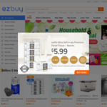 $10 off (New Customers) or $5 off (Existing Customers) with $20 Min Spend at ezibuy
