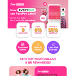 $20 Cashback ($90 Min Spend) with First Fave Pay Later Transaction