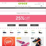 Crocs - 25% off Full Priced Shoes