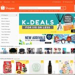 15% off Shopee Sitewide with Code for First 1000 Capped at $5