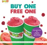 1 for 1 Original Pink Guava Berry Crush Drinks at Boost Juice