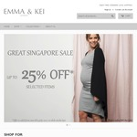 $15 Discount Code at Emma and Kei - Maternity/Breastfeeding Clothes