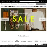 $18 off at Zalora ($100 Minimum Spend)