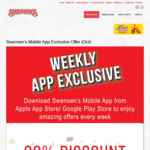 30% off Swensen's Gift Vouchers - $100 Voucher for $70 Via App (Monday 9th to Sunday 15th August)