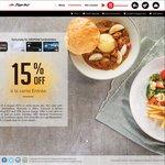 15% off à La Carte Entrè for DBS / POSB Cardholders @ Pizza Hut