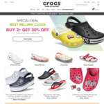 Free Shipping Sitewide (No Minimum Spend) at Crocs