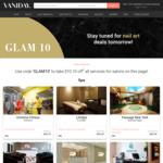 $10.10 off at Selected Salons via Vaniday
