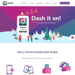 Dash It on - Win a Prize for Every $15 Spend