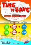 Timezone Singapore: Double Dollars - Purchase $60 Credit for $30 or $100 Credit for $50 (Monday 12th & Sunday 25th September)
