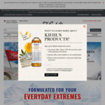 Free 12-Pc Ultra Trial Kit from Kiehl's (Collect In-Store)