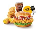 20% off Crispy Hainanese Chicken Feast (from $9.56) at McDonald's via foodpanda